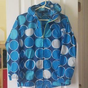 Unlined rain jacket